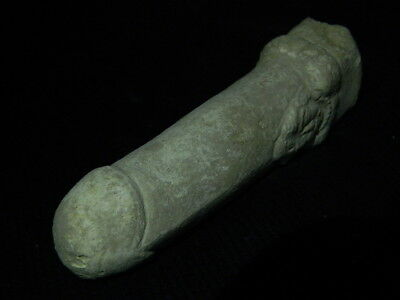 Ancient White Stone Linga/Lingum Hindu Shahi 700 AD #CCH15 9