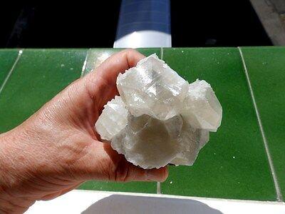 """Minerales """" Fantasticos Cristales De Calcita+Barita De Mina Moscona  -  8B17 """" 12"""