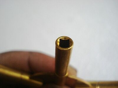 MASTER Key for all ANTIQUE CLOCK - BRASS -Total 10 type of Key HOLE in Two piece 7