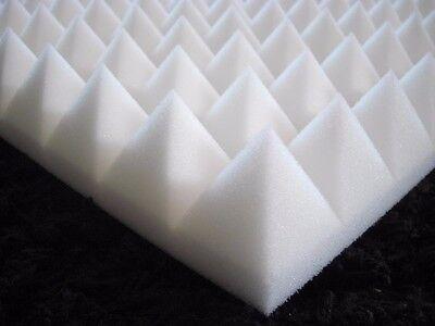 Pyramiden Schaumstoff SELBSTKLEBEND Dämmung Akustik Koffer Taschen ca.49 x 49 cm