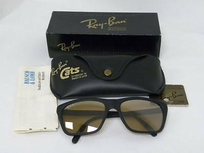 08e12209698 ... coupon for 6 of 7 new vintage bl ray ban cats 3000 matte black rb 50