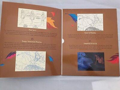 Walt Disney Pocahontas Masterpiece Artist Portfolio Lithograph Set Model Sheet