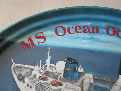 Vintage MS OCEAN ODYSSEY Plate / Plaque - 100% ORIGINAL - Made in USA (2188) 4