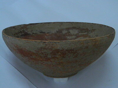 Ancient Huge Size Teracotta Painted Pot Indus Valley 2500 BC   #PT15204 7