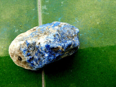 "Minerales "" Extraordinario Mineral De Lapislazuli De Afghanistan  -  9B19 "" 4"