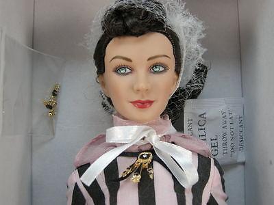 "Gwtw Tonner Scarlett O'hara Vivien Leigh Peachtree Street Stroll 16"" Doll"