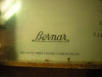 ANTIGUA BALANZA bascula de cocina Bernar pesa hecha en España vintage retro