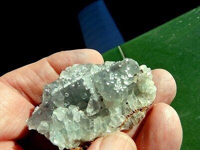 """Minerales """" Extraordinarios Cristales De Fluorita De Marruecos  -  1G17 """" 6"""