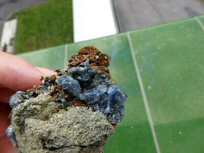 """Minerales """" Fabulosos Cristales De Quarzo Azul De Cantera Juanona -  9G19 """" 2"""