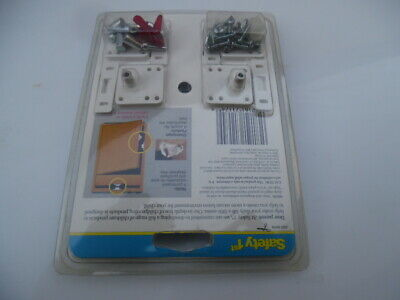 Safety 1st Magnetic Tot-Lok Four Lock Assembly - 4pc. (I have 2 sets - 8pc) 6