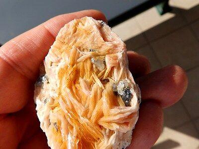 """Minerales """" Bonitos Cristales De Barita+Galena+Cerusita De Marruecos  -  6F16 """" 2"""