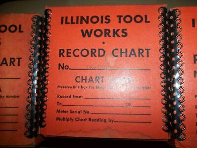 ITW 1603 Electric Recorder Paper 16-129, Indicator E21, Manual included 3