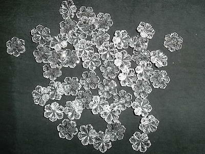 Pretty 50 16mm glass snowflake chandelier drops(D142) 7