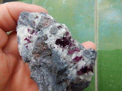 "Minerales "" Fantasticos Cristales De Roselita De Ouazazate(Marruecos) - 2B18 "" 6"