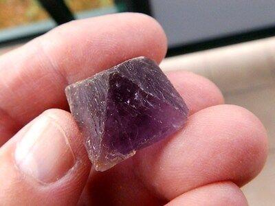 """Minerales """" Fabuloso Cristal Octaedrico De Fluorita De China  - 10F15 """" 3"""