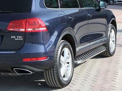VW Touareg | Baujahr 2002-2014 | Aluminium Trittbretter | mit TÜV/ABE