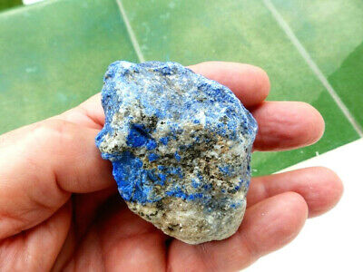 "Minerales "" Extraordinario Mineral De Lapislazuli De Afghanistan  -  9B19 "" 3"