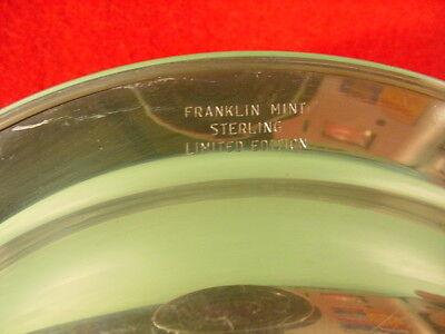 Norman Rockwell Sterling Silver Franklin Mint Plate 1971 Under the Mistletoe 4