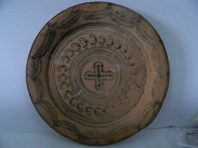 Ancient Teracotta Painted Plate With Animals Indus Valley 2500 BC  #P 2