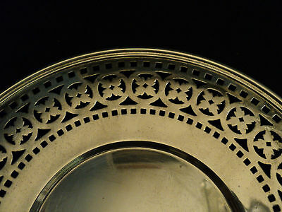 "Beautiful Vintage Wallace Sterling Silver Pierced 9.5""  Plate 2"