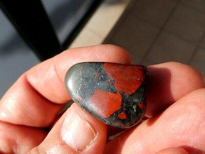 """Minerales"""" Extraordinario Mineral Rodado De Heliotropo  Poona(India)  -  6C16 """" 4"""