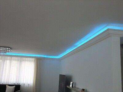 8 Von 10 Indirekte Beleuchtung LED Lichtprofile Wand U0026 Decken Beleuchtung  20 Meter BL 03