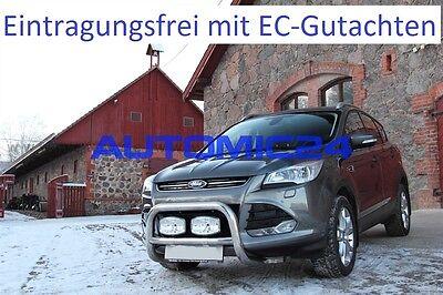 Frontbügel Bullenfänger Frontschutzbügel Rammschutz Ford Kuga Zulassung