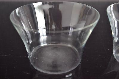 2 Teeglas + Glaseinsatz + Untersetzer BBI Braucke Berkenhoff Iserlohn Kordelrand 8