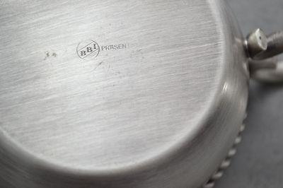 2 Teeglas + Glaseinsatz + Untersetzer BBI Braucke Berkenhoff Iserlohn Kordelrand 5