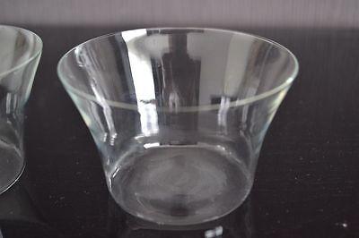 2 Teeglas + Glaseinsatz + Untersetzer BBI Braucke Berkenhoff Iserlohn Kordelrand 9