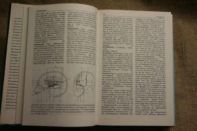 Lexikon Neurobiologie, Nervensystem, Neurologie, Neurowissenschaften, DDR 1988 2