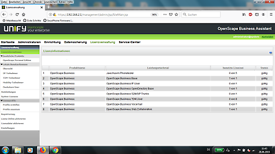 Openscape Business Siemens//Unify X3R Lizenzen 19 Zoll Rechnung 19/% MwSt