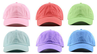 ... Newhattan 1400 Adjustable Baseball Caps Hats Stone Washed 100% Cotton  New Tags 6 c0bc9d3cfd4