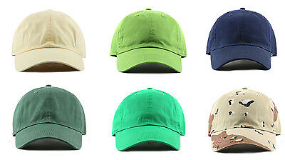 1d10060b9fe ... Newhattan 1400 Adjustable Baseball Caps Hats Stone Washed 100% Cotton  New Tags 7