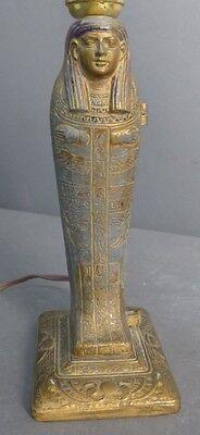 Egyptian Revival Erotica Sculpture as Lamp Lot 122 2