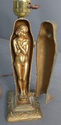 Egyptian Revival Erotica Sculpture as Lamp Lot 122 3