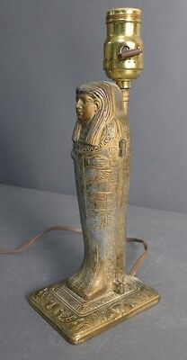 Egyptian Revival Erotica Sculpture as Lamp Lot 122 5