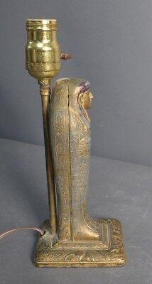Egyptian Revival Erotica Sculpture as Lamp Lot 122 6