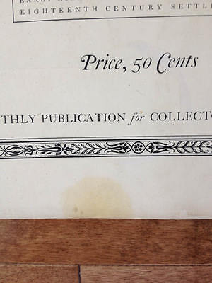Volume 6 Number 4 Antiques Monthly Publication October 1924 19th Century Dolls 8
