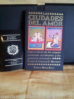 CIUDADES DEL AMOR Libro FRANCO MARIA RICCI Milan 1989 Edicion Coleccionista 2