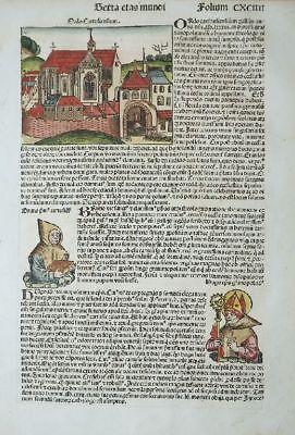 Türkei Anatolien Nicea Nicaea Ansicht Karthäuser Orden Schedel Welt Chronik 1493