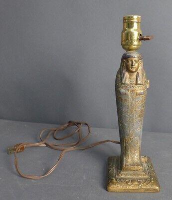 Egyptian Revival Erotica Sculpture as Lamp Lot 122 4