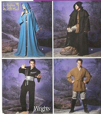 STAR WARS JEDI Cloak Tunic Costume Sewing Pattern XS-XL Simplicity ...