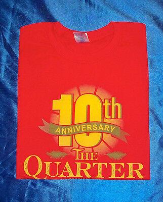 Tropicana Casino The Quarter 10th Anniversary T-shirt L Never Worn