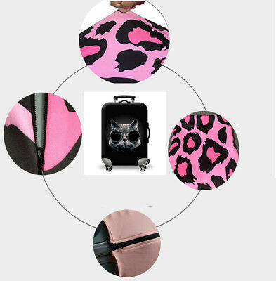Travel Luggage Suitcase Cover Case Elastic Dustproof Antiscratch Protector 18~32 9