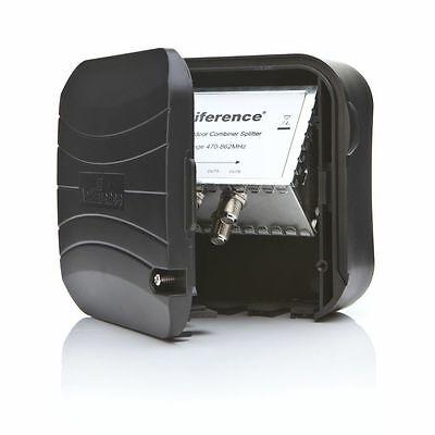 4 Voies Aérienne Tête de Mat Extérieur Amplificateur 3 Alimenté Répartiteur 4