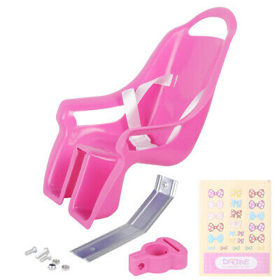 Bike Doll Carrier Seat Kids Girls Seats Post Dolls Holder Stickers Bicycle Kit 12