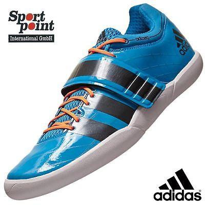 ADIDAS SHOTPUT 2 Diskus Hammerwurf Schuhe Rotational Leichtathletik 44 Neu