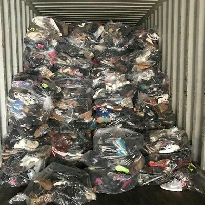 Wholesale Joblot Used Second Hand Clothes Shoes 25Kg Sacks Bags Cream, Grade 1&2 12