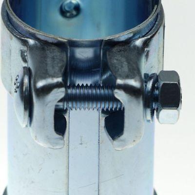 Auspuffschelle Rohrschelle Doppelschelle Rohrverbinder Schelle 48 x 125 mm Audi